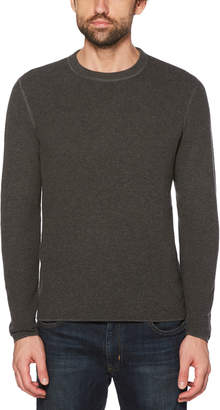 Original Penguin WAFFLE STITCH CREW SWEATER