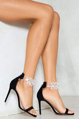 Nasty Gal Diamond in the Rough Embellished Heel