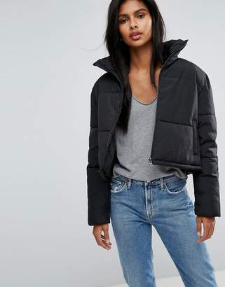 Only Cropped Puffer Jacket