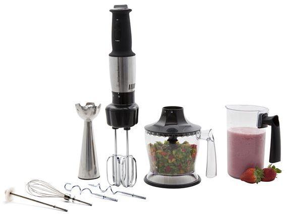 Wolfgang puck immersion blender, chopper & hand mixer