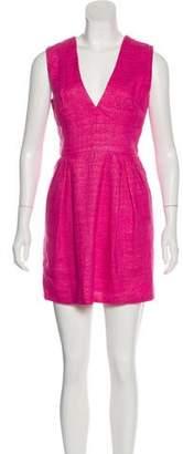 Adam Linen Sleeveless Dress