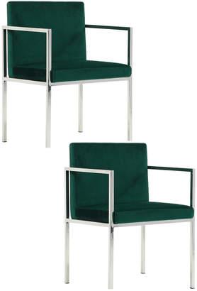 Pangea Set Of 2 Glen Dining Chairs