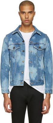 Saint Laurent Blue Denim 'Sweet Dreams' Jacket $1,490 thestylecure.com