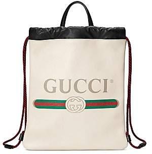 Gucci Women's Print Small Drawstring Backpack