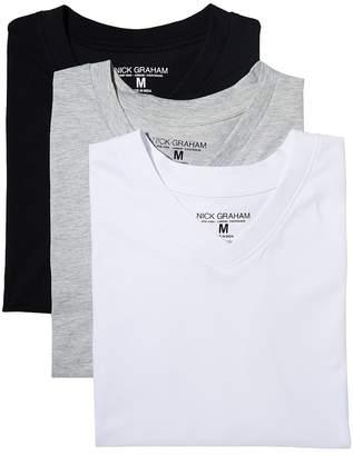Nick Graham 3-Pack V-Neck T-Shirts Men's Underwear