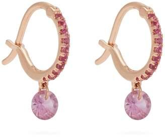 Rosegold RAPHAELE CANOT Set Free sapphire & rose-gold earrings