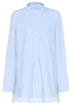 Acne Studios Lysanne cotton-piqué shirt