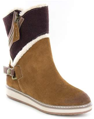 White Mountain Teague Suede Faux Fur Lined Boot