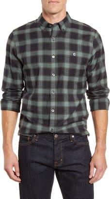Todd Snyder Slim Fit Plaid Button-Down Flannel Shirt
