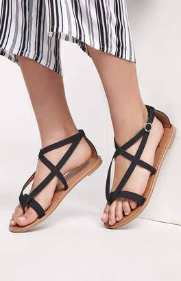 Qupid Athena Strappy Sandals