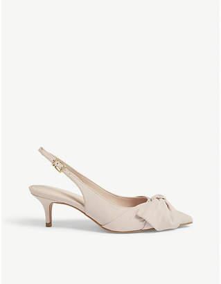 Aldo Davangus bow detail slingback sandals