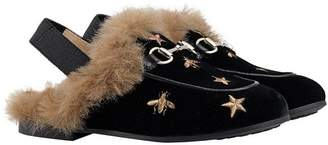 0865e67cb Gucci Kids Children s Princetown bees and stars slippers