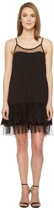 Brigitte Bailey Briah Spaghetti Strap Dress with Lace Detail Women's Dress
