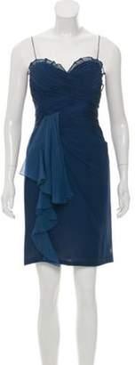 J. Mendel Silk Mini Dress Silk Mini Dress