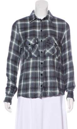 Zadig & Voltaire Long Sleeve Button-Up Top
