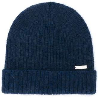 Woolrich ribbed knit beanie