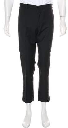 Ralph Lauren Black Label Cuffed Wool Pants