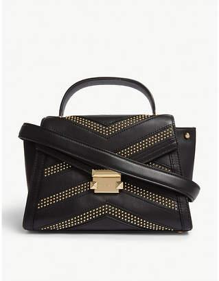 MICHAEL Michael Kors Leather studded mini satchel