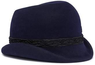 Maison Michel 'Mauro' braided ribbon trim felt hat