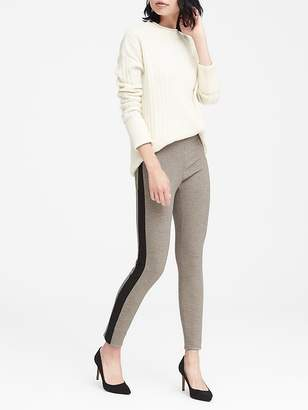 Banana Republic Devon Legging-Fit Side-Stripe Ankle Pant