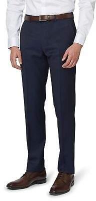 DKNY Mens Slim Fit Ink Twill Trousers