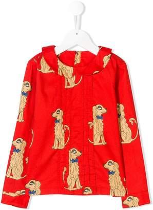 Mini Rodini Spaniels print blouse