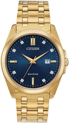 Citizen Eco-Drive Men Corso Gold-Tone Stainless Steel Bracelet Watch 41mm