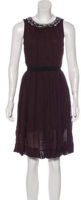 Robert Rodriguez Embellished Mini Dress w/ Tags