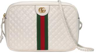 Gucci Laminated leather small shoulder bag