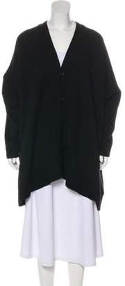 eskandar Long Sleeve Oversize Cardigan