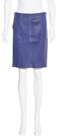 Marc by Marc Jacobs Leather Pencil Skirt w/ Tags