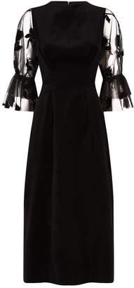 Mother of Pearl Faith Sheer Sleeve Dress
