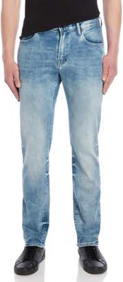 PRPS Light Wash Demon Stretch Slim Jeans