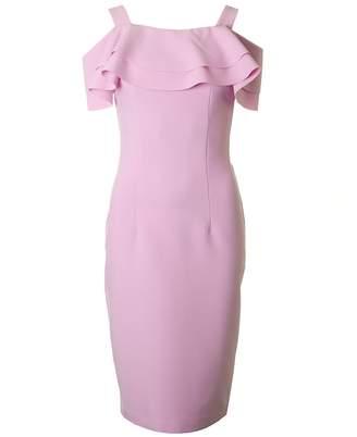 Bourne Kori Drop Shoulder Frill Dress