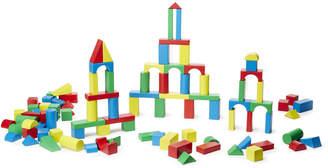 Melissa & Doug 100-Piece Wooden Blocks