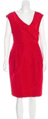 Valentino Sleeveless Midi Dress