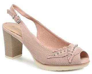 Marco Tozzi Women's Joven Strap High Heels in Pink