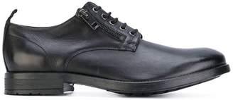 Diesel zip detail derby shoes