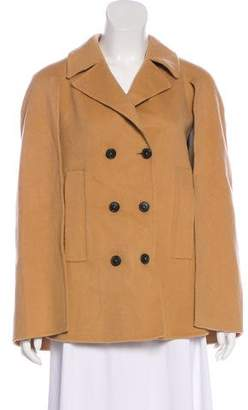 Theory Wool & Cashmere Blend Cape Jacket
