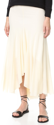 Fuzzi Long Skirt $335 thestylecure.com