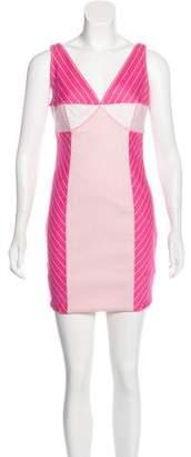 Christian Dior Striped Sheath Dress