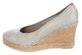 Penelope Chilvers Leather Espadrille Wedges