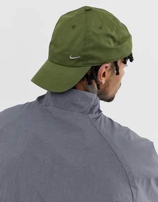 b2033f13c78 Nike Metal Swoosh Cap In Khaki 943092-395