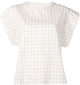 Calvin Klein checked T-shirt