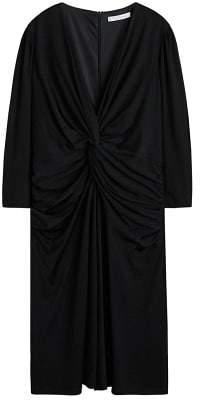 Violeta BY MANGO Knotted cotton dress