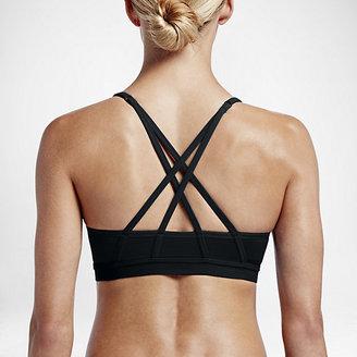 Nike Pro Indy Cross Back Women's Light Support Sports Bra $50 thestylecure.com