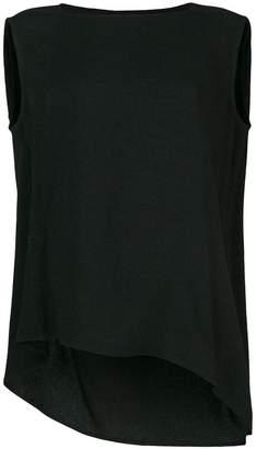 Rick Owens draped back tank top