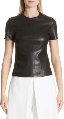 Rosetta Getty Leather Tee