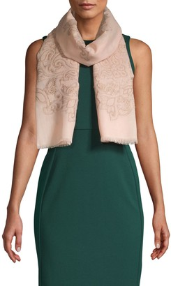 Collection 18 Paisley Jacquard Evening Scarf