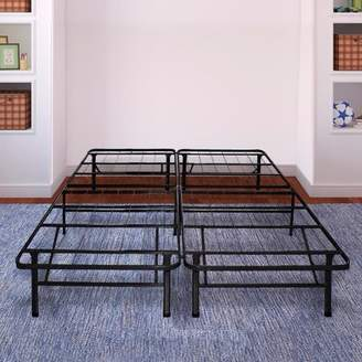 Best Price Mattress Innovative Steel Platform Bed Frame / Bed Raiser / Box Spring Replacement / Maximum Under-bed Storage Multiple Sizes